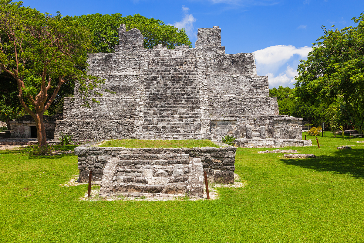 El Meco Mayan Ruins