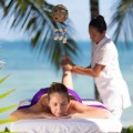 Village spa' treatments in the beach