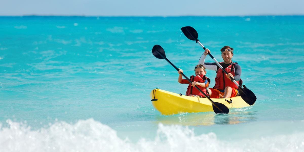 Kayaks for Villa del Palmar Cancun