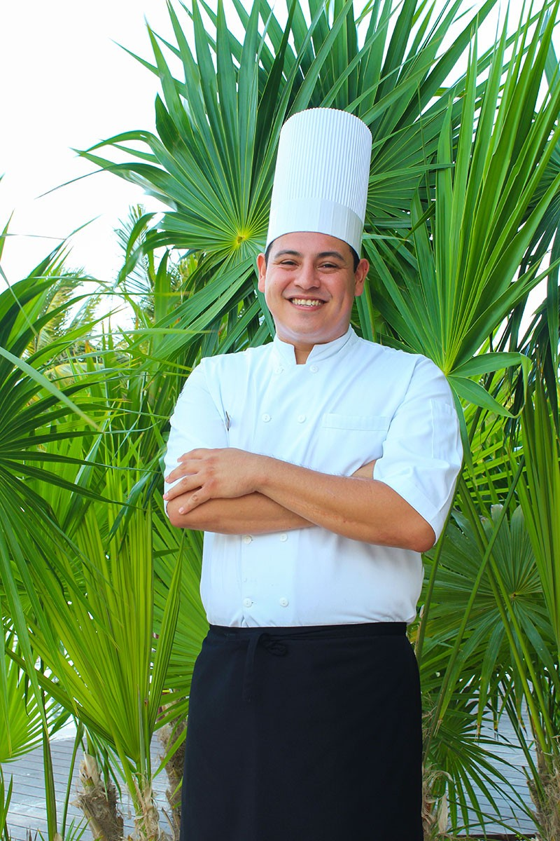 Chef Ciro Ernesto Gtz Meza at Zamá