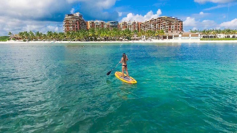 Playa Mujeres: Villa´s del Palmar beach