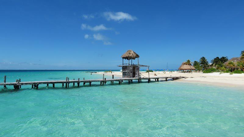 North Beach – Isla Mujeres:The perfect beach to water activities