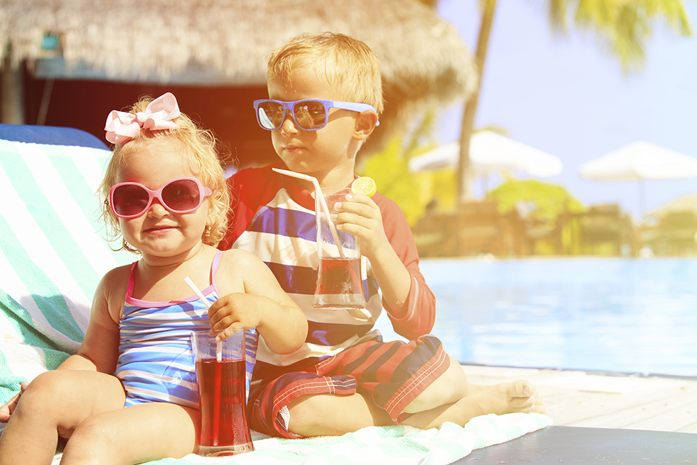 Inspired Kids = relaxing vacations for all
