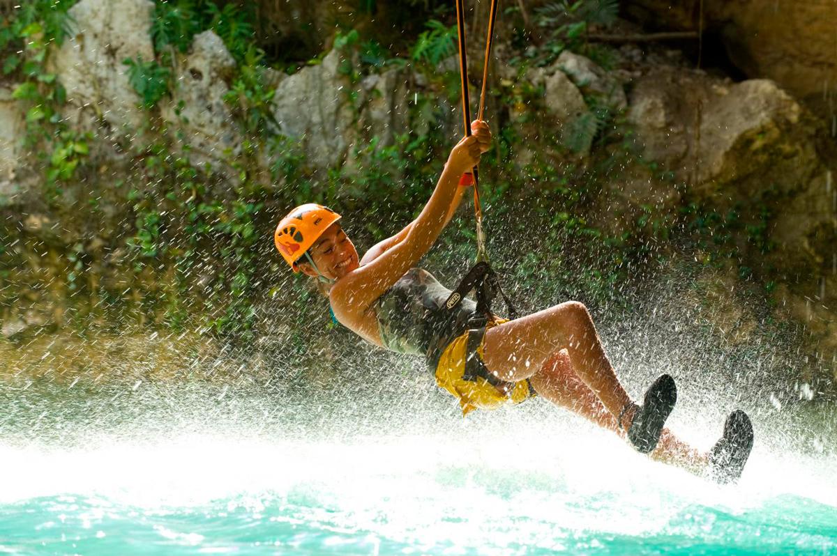 Canopy Zipline Adventures in Cancun
