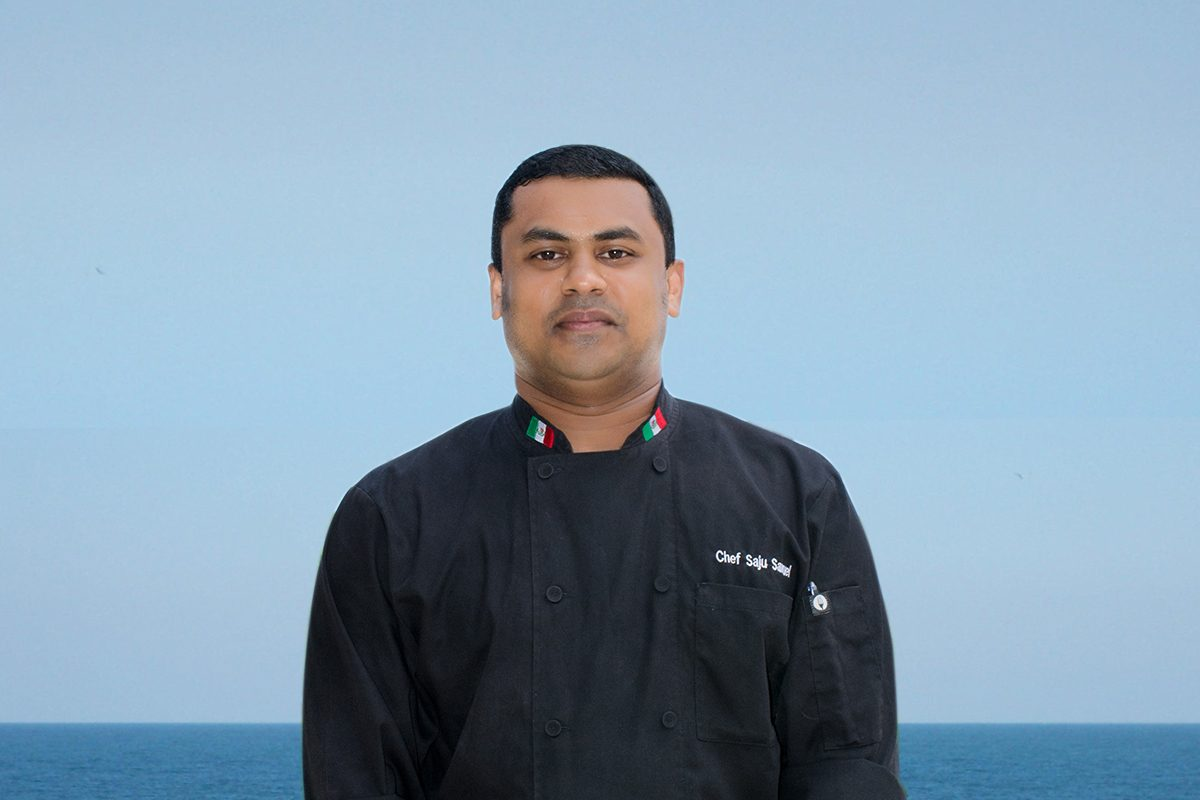 Chef Saju Samuel Spices up Caprichos