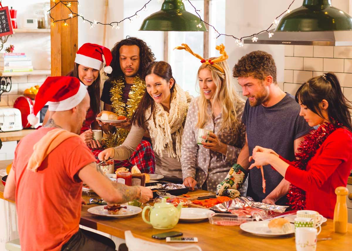 Christmas Dinner Around the World