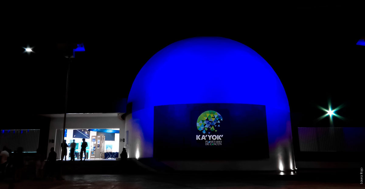 Ka´Yok´ Planetarium in Cancun