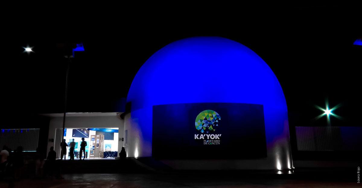 Ka´Yok´ Planetarium in Cancun