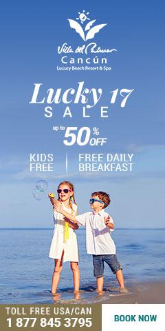 Lucky 17 sale Cancún México