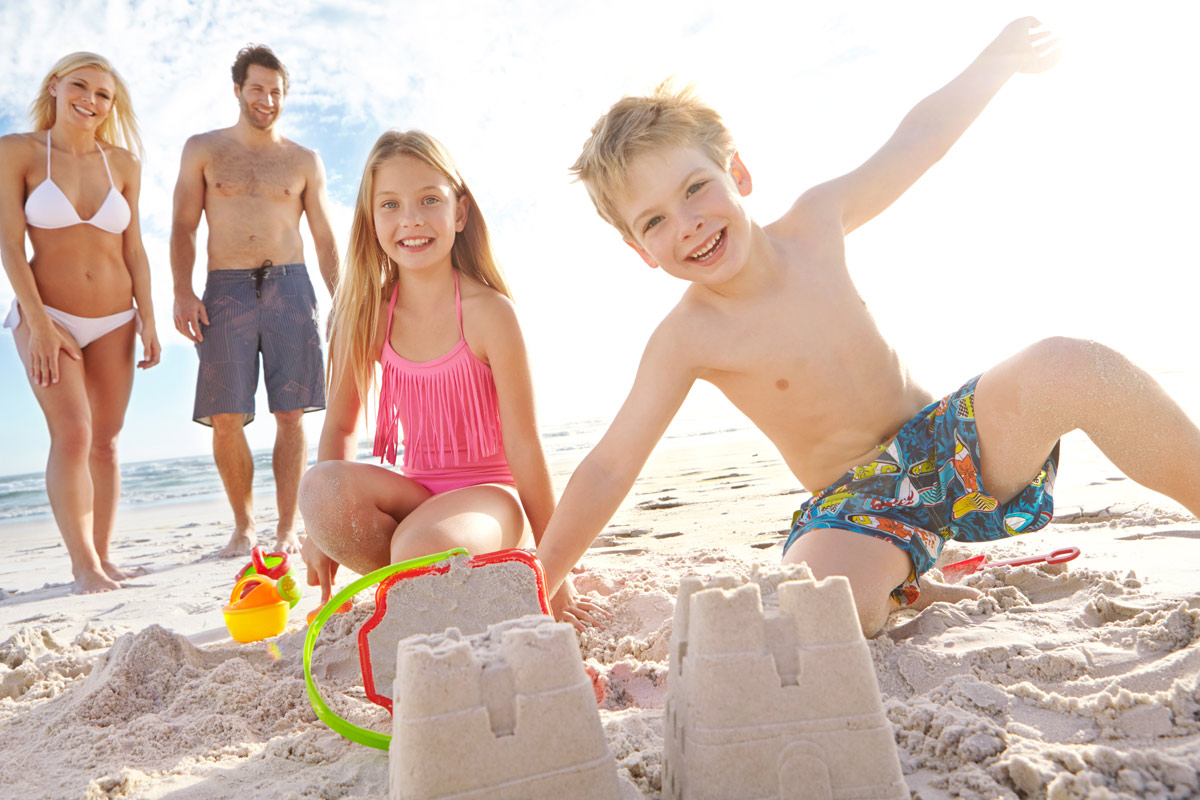 The Art of Building Sand Castles