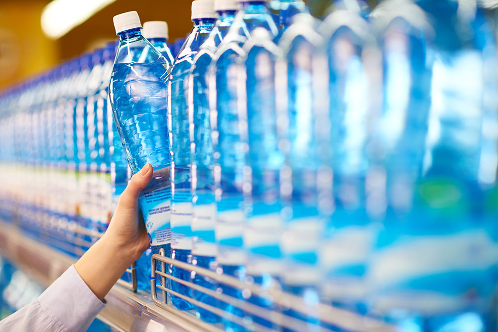 Bottle water and on-site filtration systems