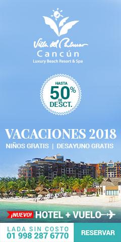 Vacaciones 2018 en Cancún