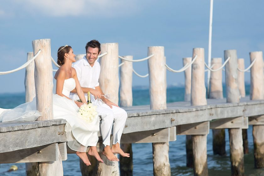 Romantic Photos at Villa del Palmar Cancun