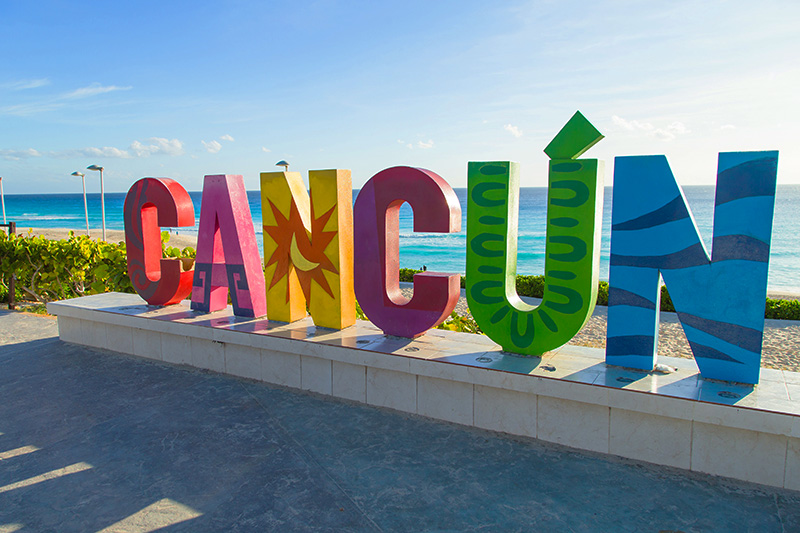 Cancun Welcomes International Tourism