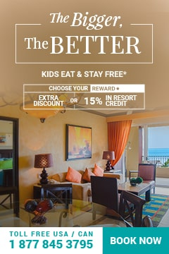 Spread out the fun in a One bedroom suite Villa del Palmar Cancún