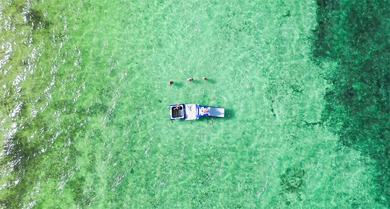 beaches without sargassum