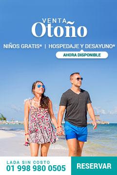 Venta especial de otoño Villa del Palmar Cancún