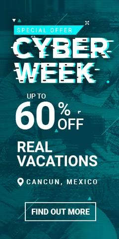 Cyber week sale Villa del Palmar Cancún