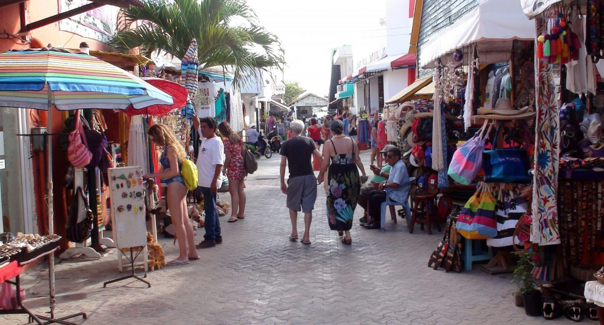 Mexican Souvenirs at Isla Mujeres