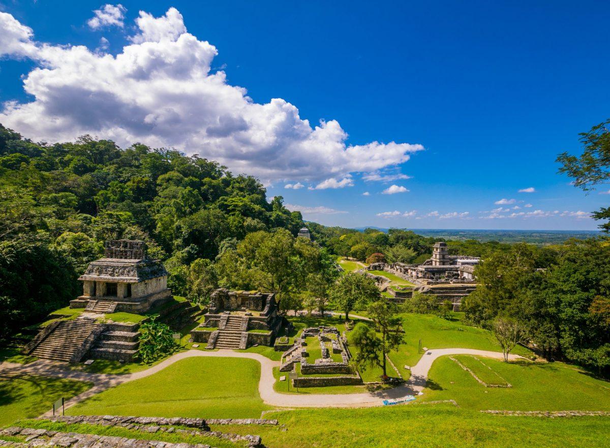 Palenque Ruins, Chiapas Mexico