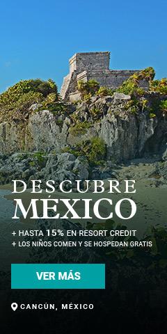 Descubre México Villa del Palmar Cancun