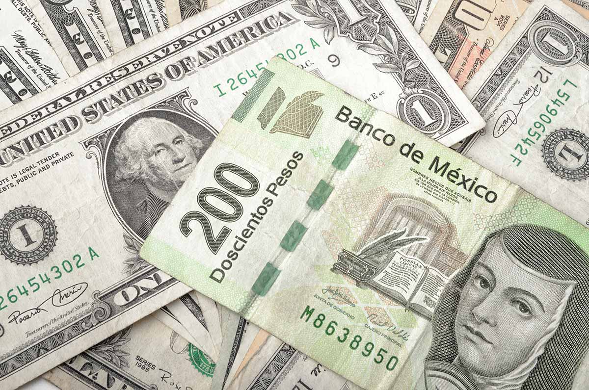 US Dollar to Mexican Peso exchange in Cancun