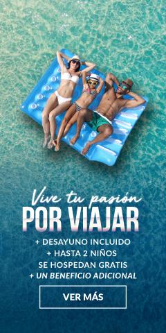 Vive tu pasión por viajar Villa del Palmar Cancun