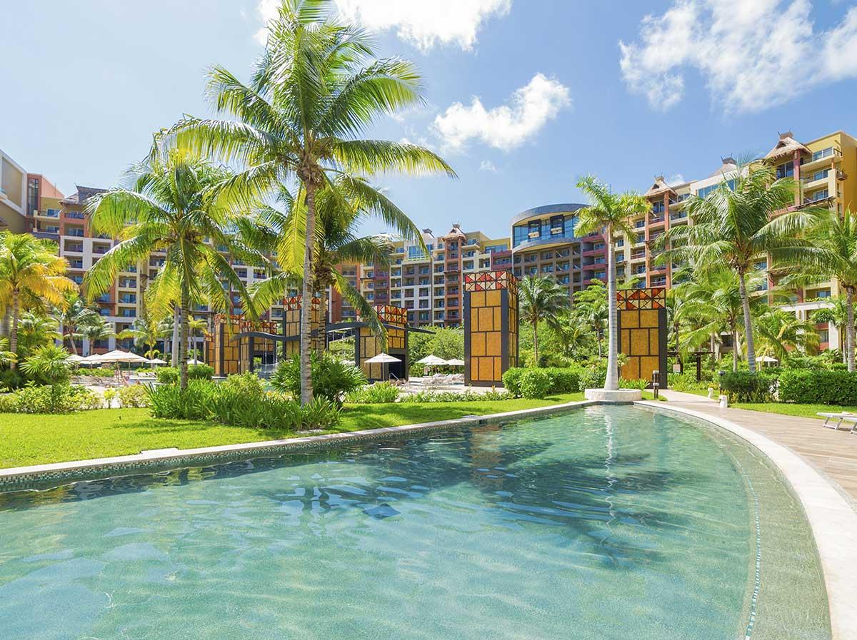 Pool Villa del Palmar Cancun Resort