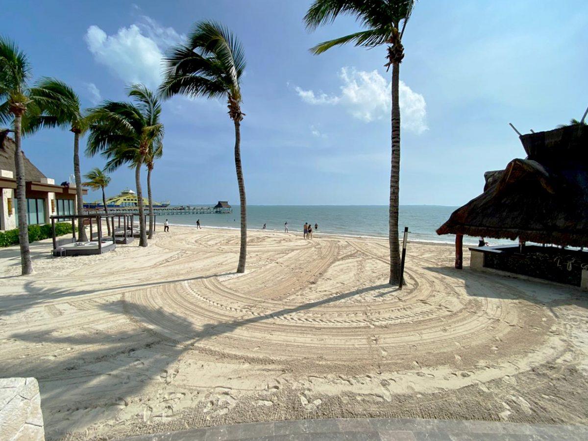 Hurricane Delta in Cancun, Mexico
