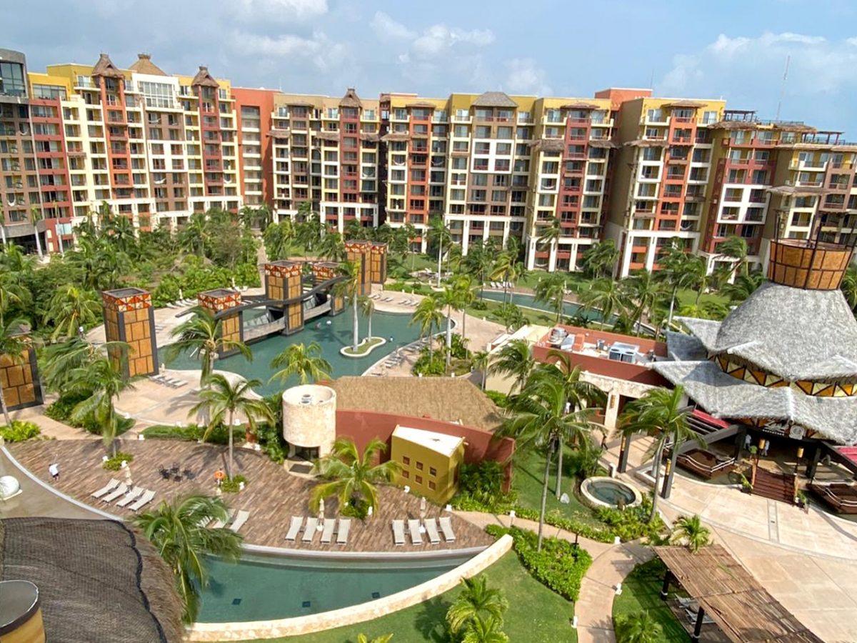 Hurricane Delta Demage in Cancun