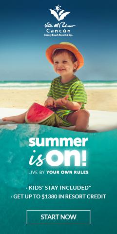 Summer sale Villa del Palmar Cancun