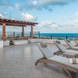 Terrace Two Penthouse Villa del Palmar Cancun