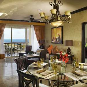guest room dining bedroom living view suites villa del palmar