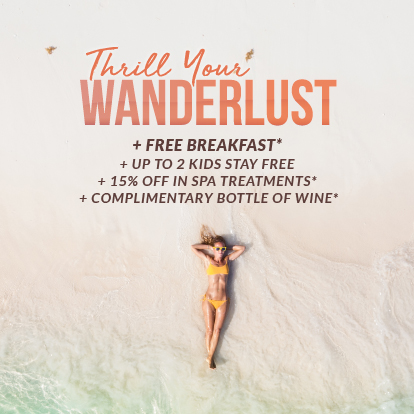 Special offer: Thrill Your Wanderlust