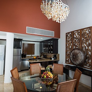 Dining Room Two Bedroom Loft at Villa del Palmar Cancun