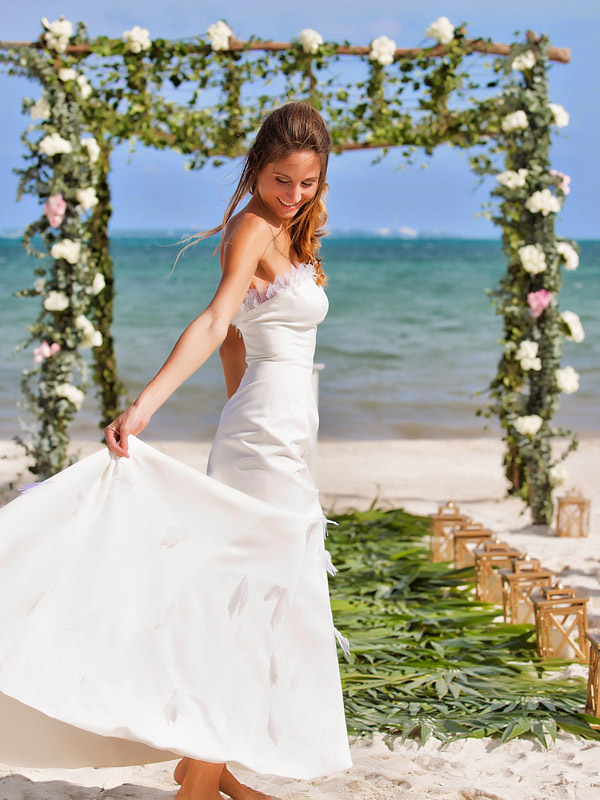 Fly me to the moon wedding packages cancun