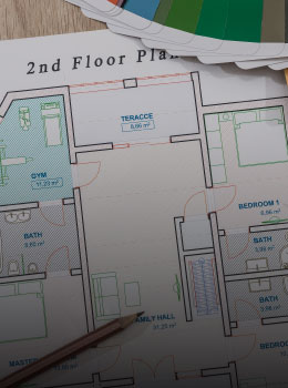 Floor Plan Three Bedroom Penthouse Villa del Palmar Cancun