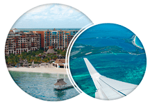 Hotel and Flight Villa del Palmar Cancun